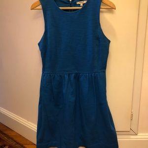 Madewell blue dress with pockets